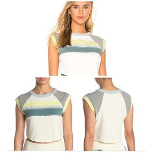 NWT Free People Movement Rosa Surfer Seaglass Tee